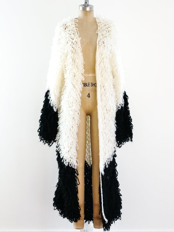 Loop Knit Maxi Cardigan
