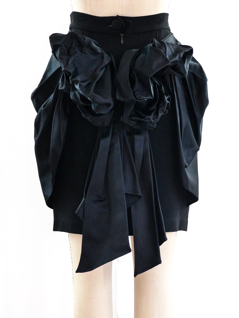 Moschino Bustle Bow Skirt