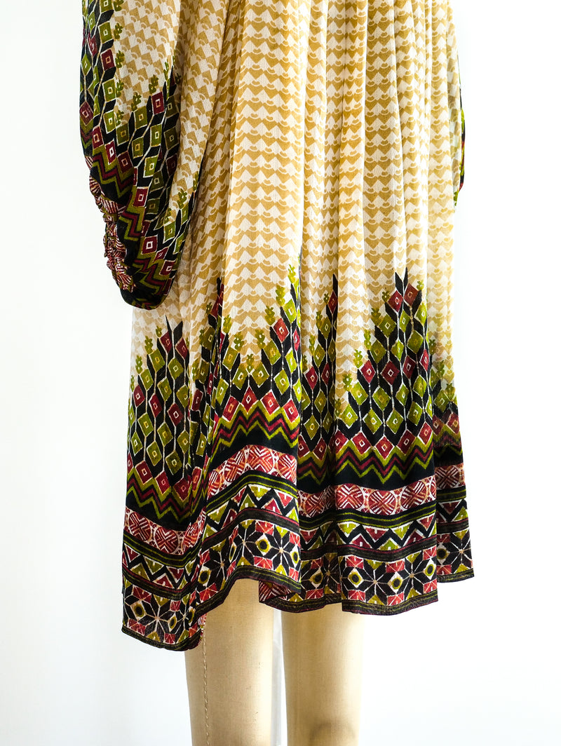 Judith Ann Silk Indian Dress