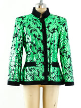 Yves Saint Laurent Chinese Collection Quilted Jacket