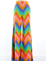 Alley Cat Rainbow Striped Pants