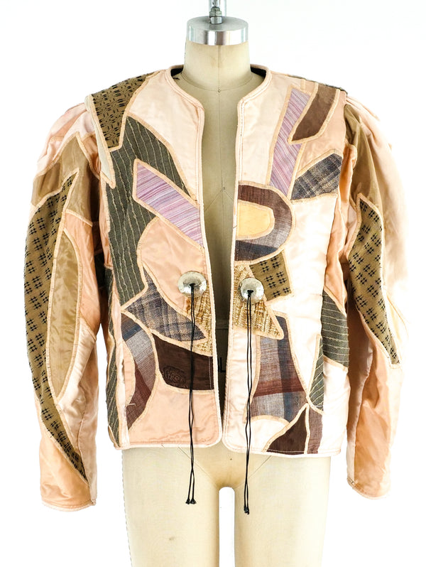 Judith Roberts Pastel Art to Wear Jacket