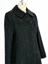 1960's Christian Dior Textured Coat
