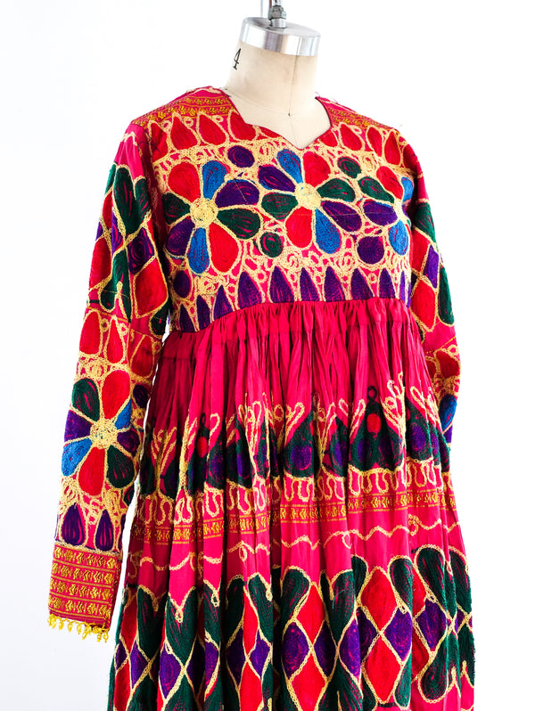 Afghani Chainstitch Dancing Dress