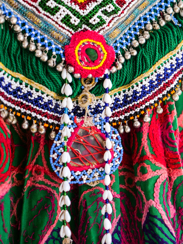 Afghani Embellished Dancing Dress