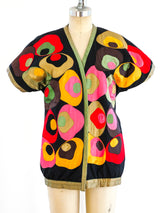 Reversible Floral Art To Wear Jacket