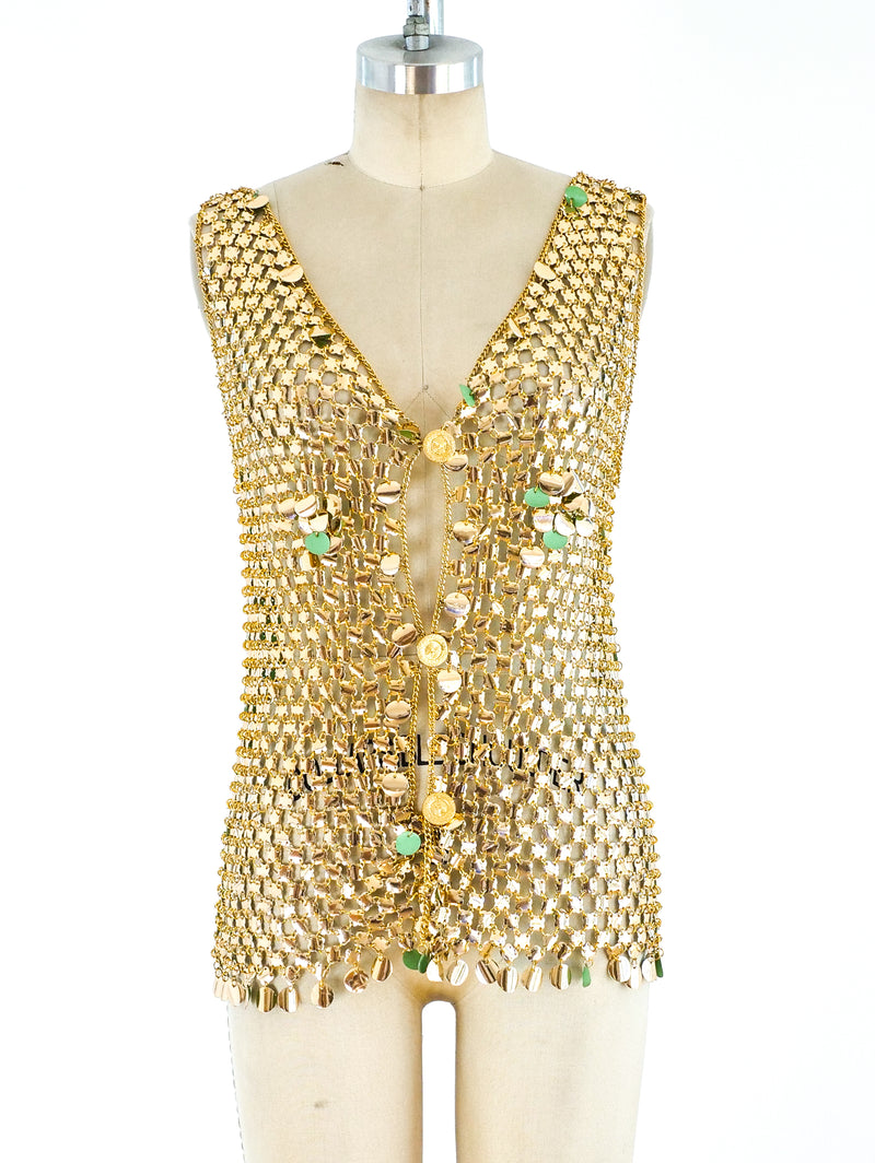 1960's Chain and Disc Vest