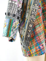 Patchwork Art To Wear Jacket