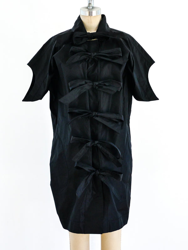 Isabel Toledo Parachute Tie Front Dress