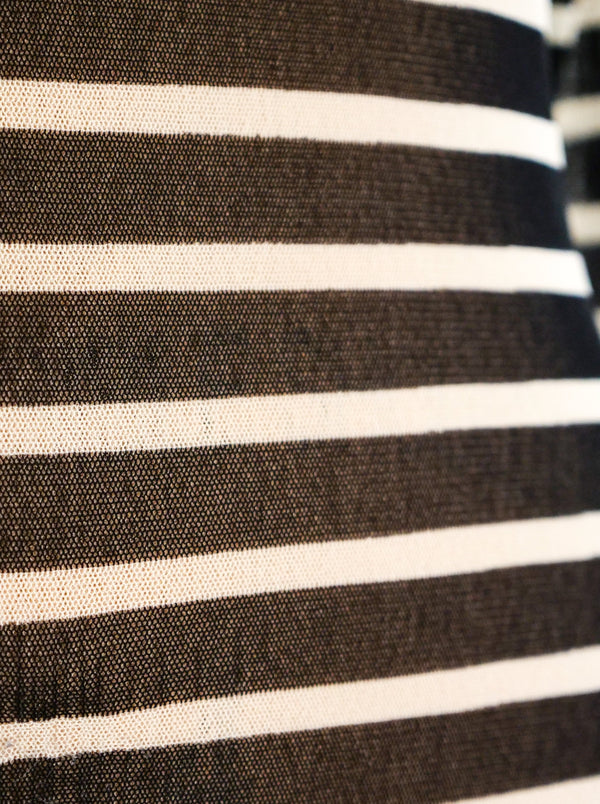 Jean Paul Gaultier Striped Net Dress