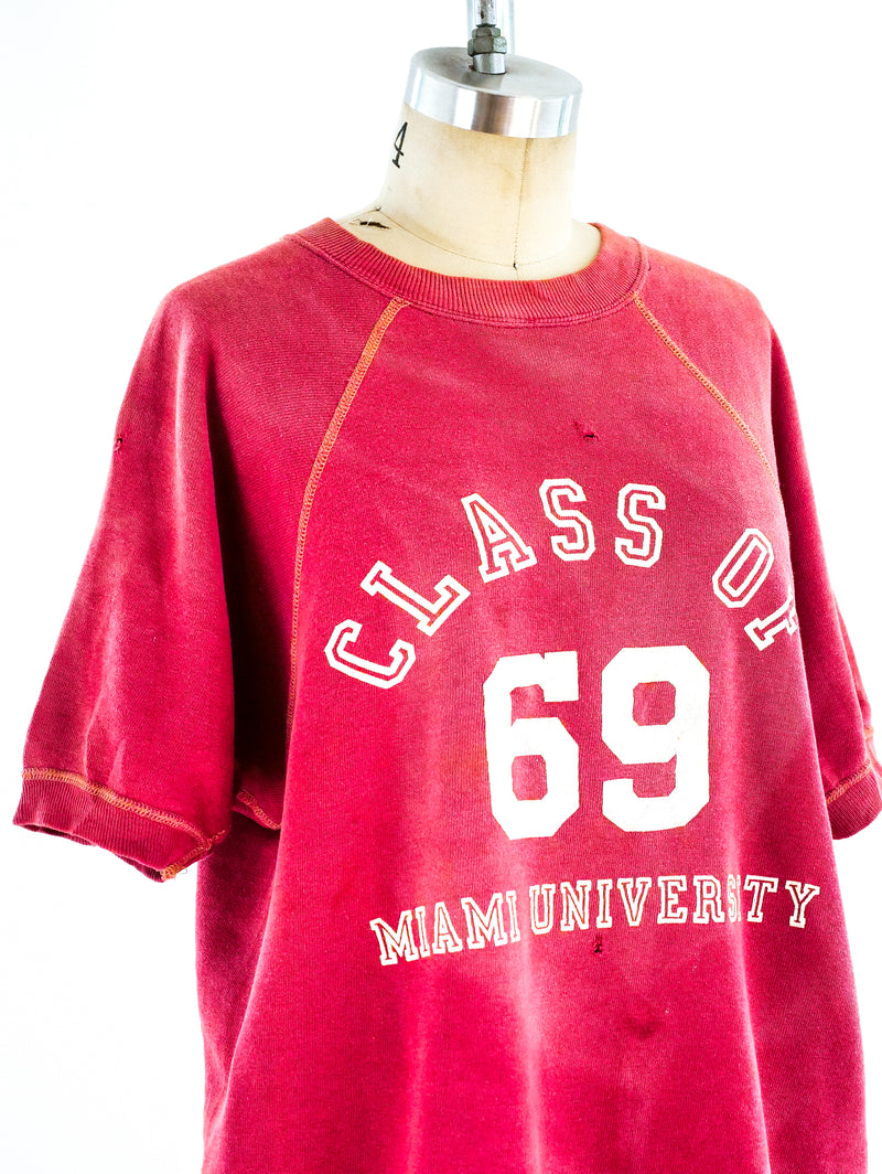 Class of 69 Graphic Sweatshirt