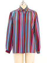 Gucci Striped Blouse