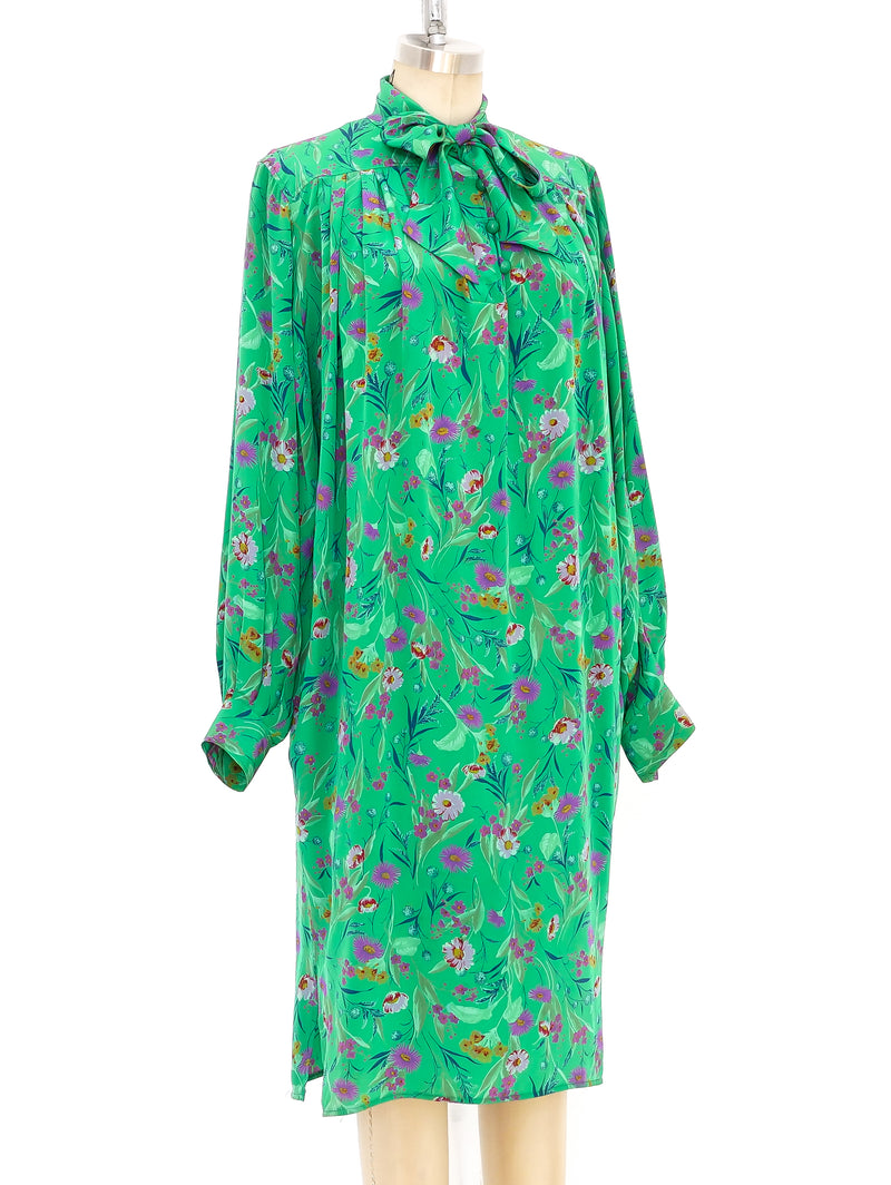 Ungaro Floral Silk Dress