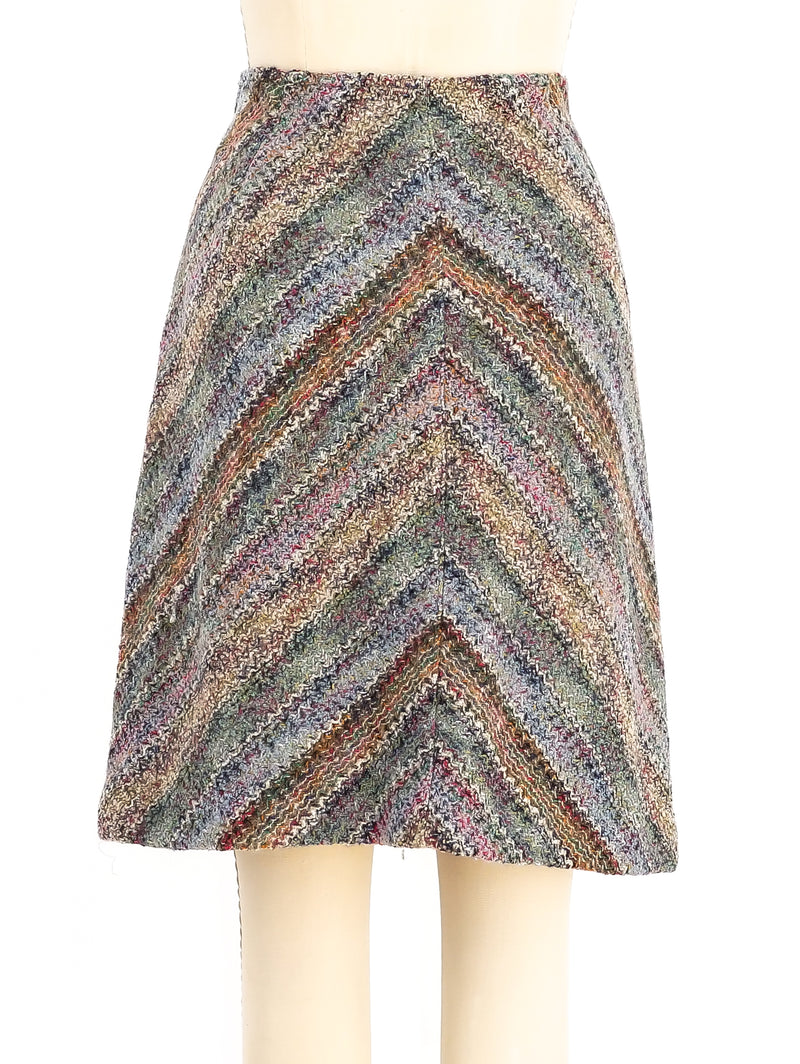 Missoni Knit Mini Skirt