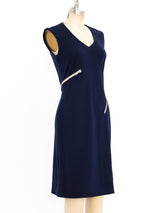 Geoffrey Beene Zip Around Jersey Dress