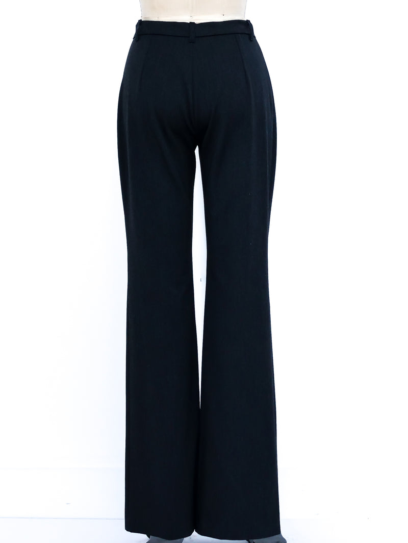 Full Zippered Front Trousers