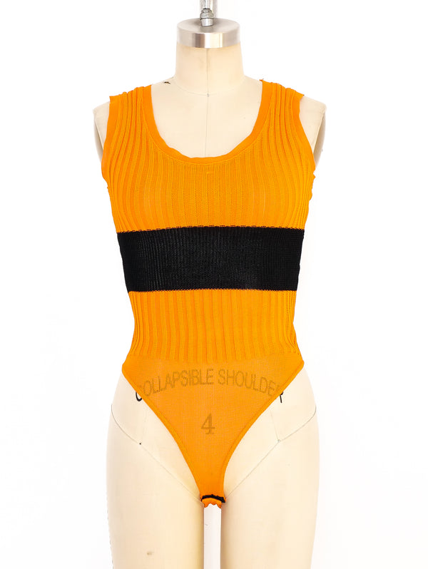 Claude Montana Rib Knit Body Suit