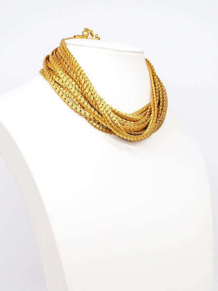 Gianfranco Ferre Multi Chain Choker
