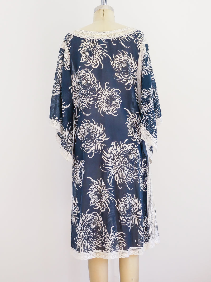 Christian Dior Floral Lounging Tunic