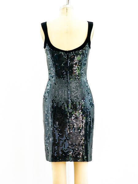 Thierry Mugler Sequin Dress