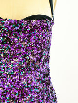 Dolce and Gabbana Sequin Bustier