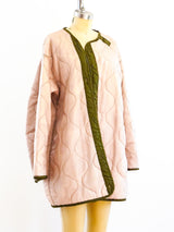 Overdyed Peach Military Liner Jacket