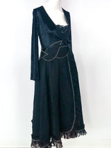 Koos van den Akker Applique Wrap Dress