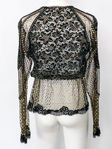 Victor Costa Lace Top