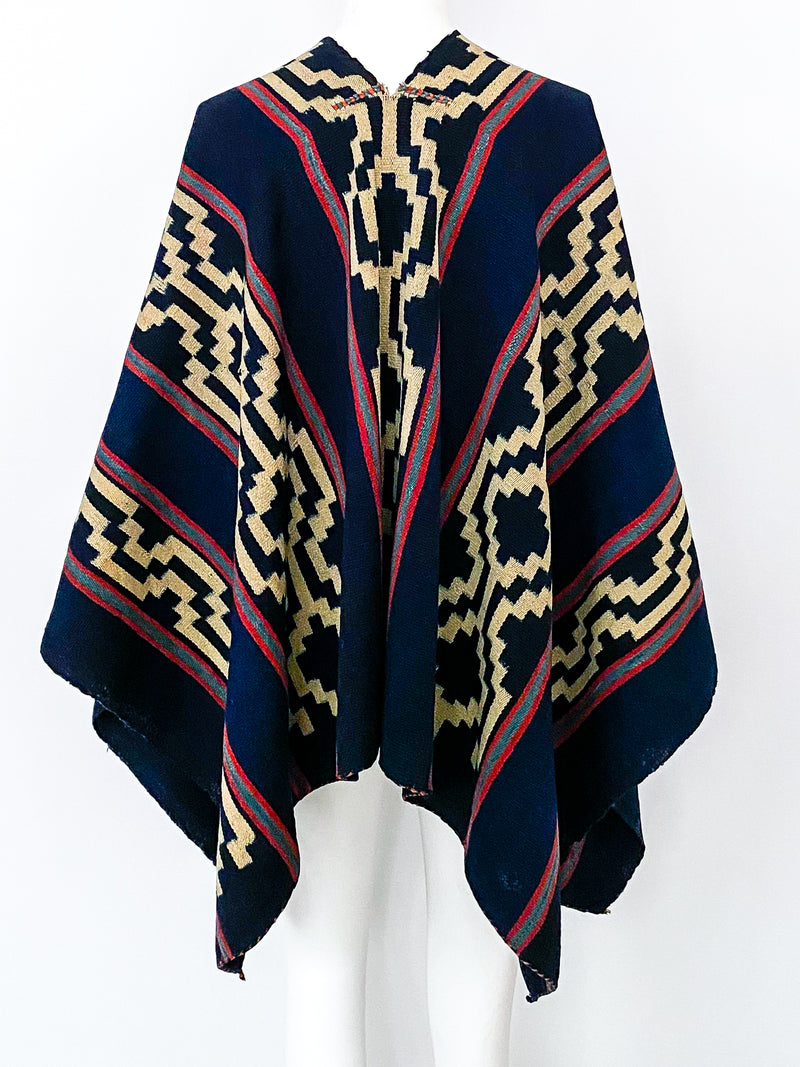 Hand Woven Poncho