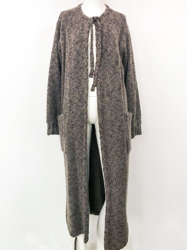 Missoni Grey Maxi Sweater