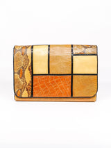 Patchwork Convertible Clutch