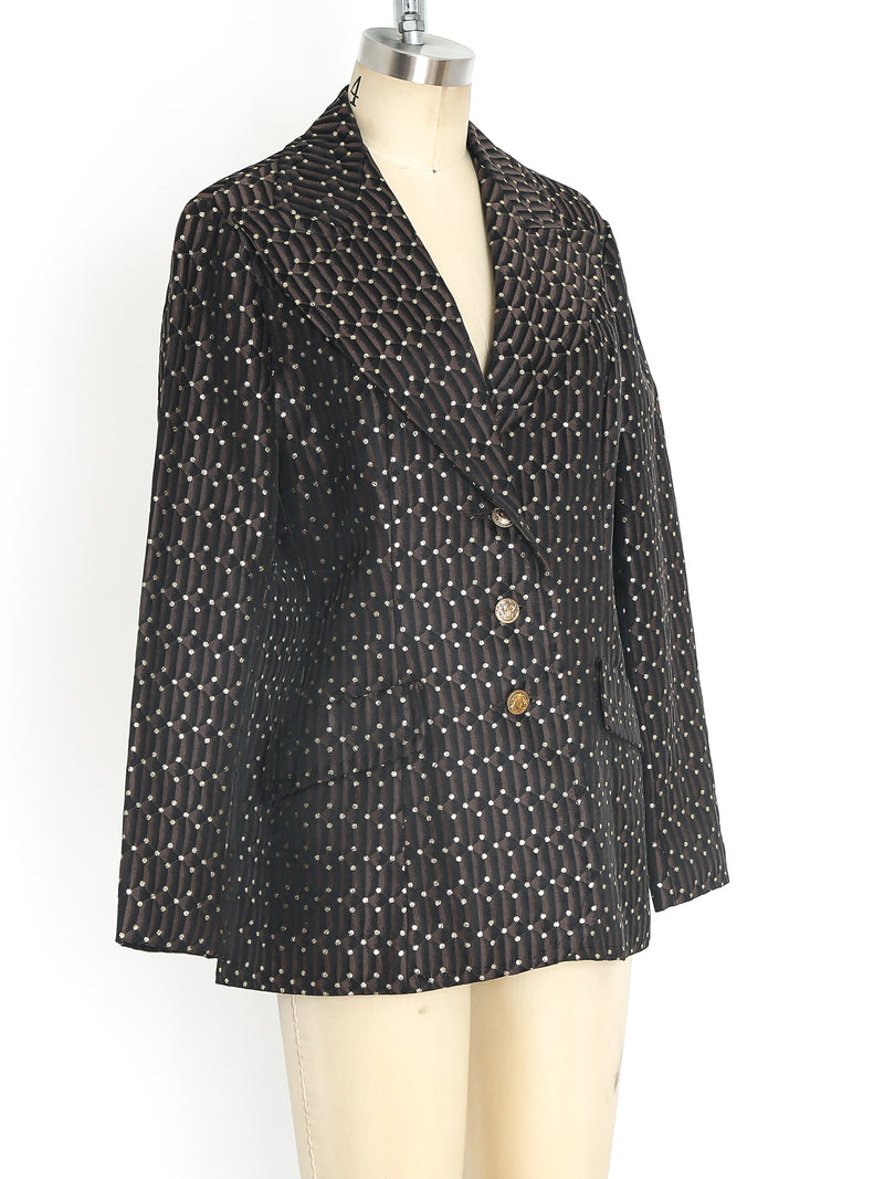 1960's Metallic Brocade Jacket