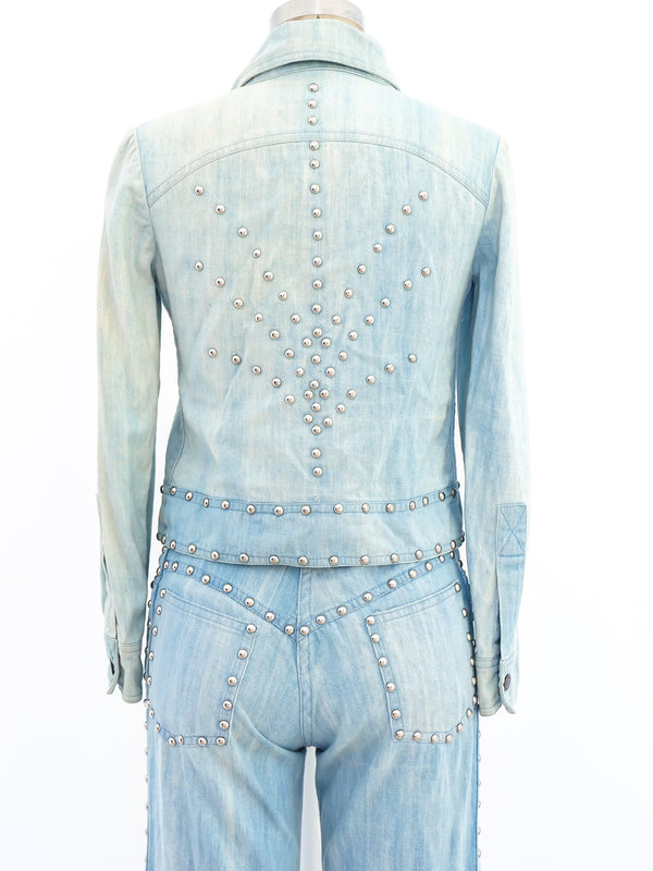 Roncelli Studded Denim Ensemble