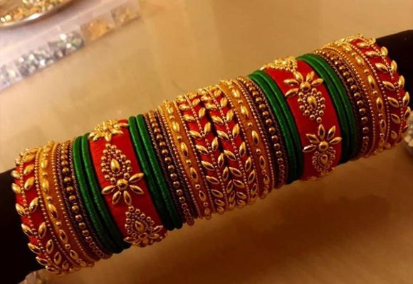 Silk Thread Bangles Tt01 Www Soosi Co In