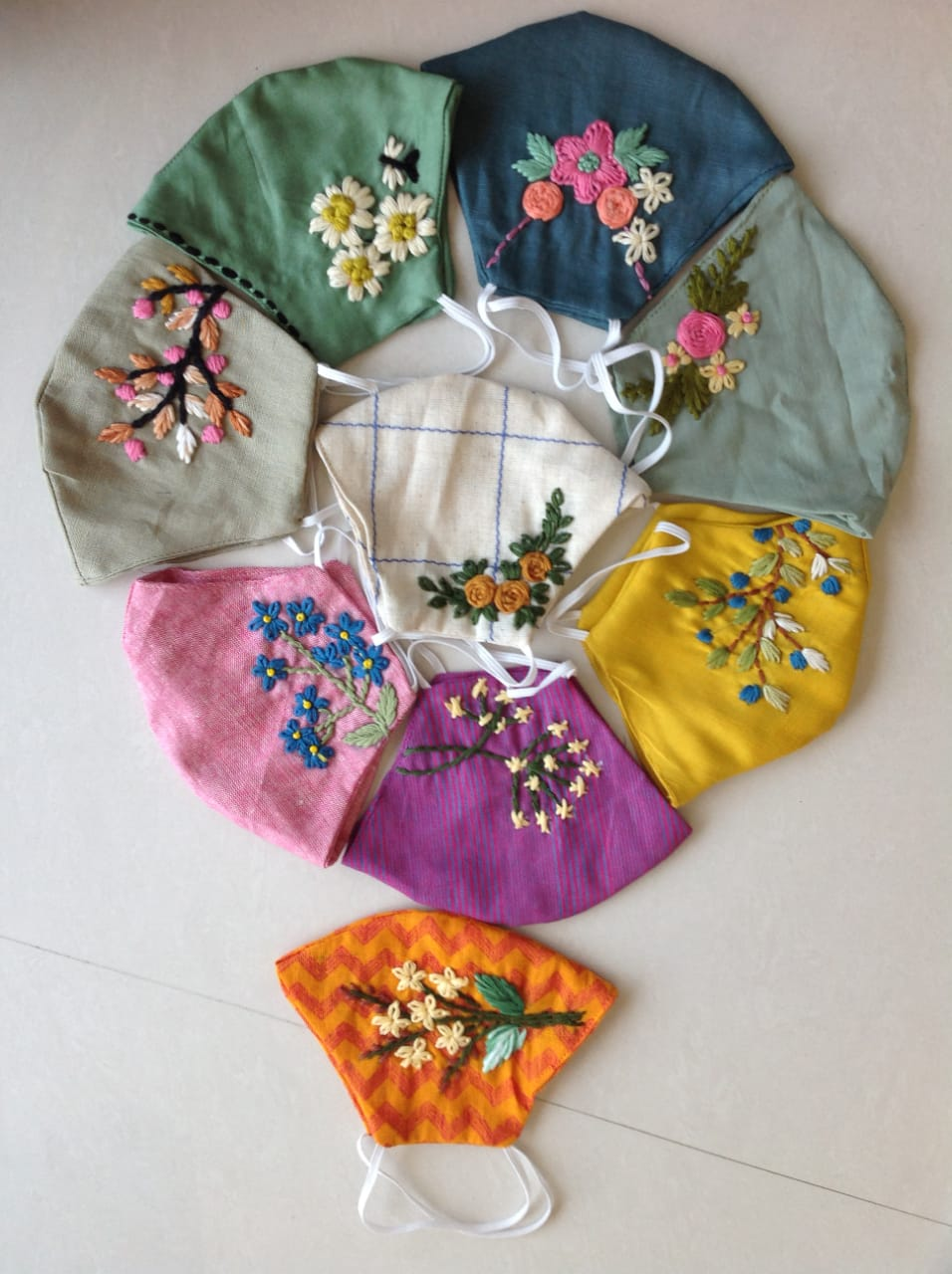 Hand-embroidered Cotton Body