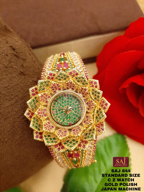 FLORA, SAJ EXCLUSIVE DESIGNER  WATCH FOR WOMEN -GANUDW001F
