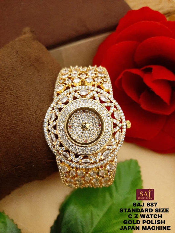 TULIPS, SAJ EXCLUSIVE DESIGNER  WATCH FOR WOMEN -GANUDW001T
