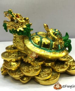 Dragon Tortoise with Turtle on Back for Business and Career
