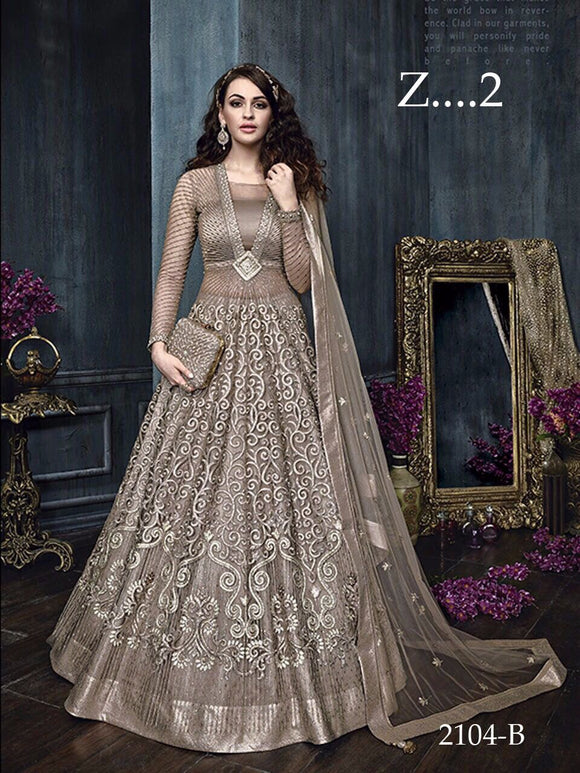 ZOYA EMBROIDERED GOWN FOR WOMEN-Z2