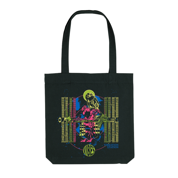 VIBRATION STATION BLACK TOTE