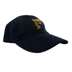 FRYARS NAVY CAP WITH SIGNED POSTCARD