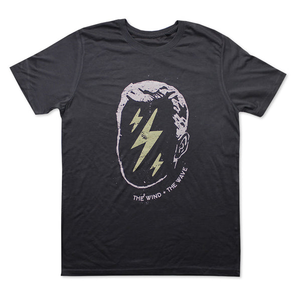 GREY LIGHTNING T-SHIRT