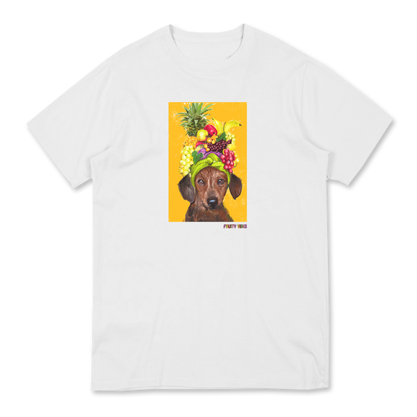 CUTIE FRUITY WHITE T-SHIRT