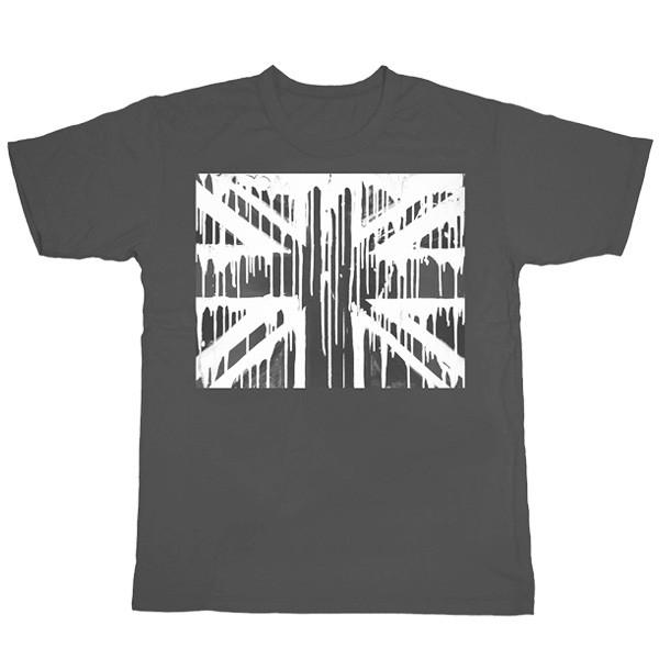 Grey Full Flag T-Shirt