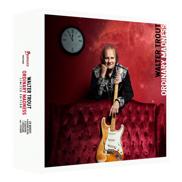 Walter Trout - Ordinary Madness (Limited CD Box) - Signed
