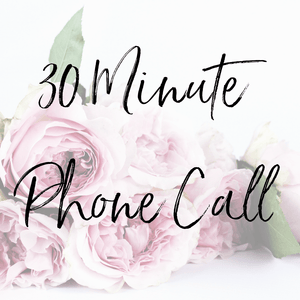 30 Minute Phone Call