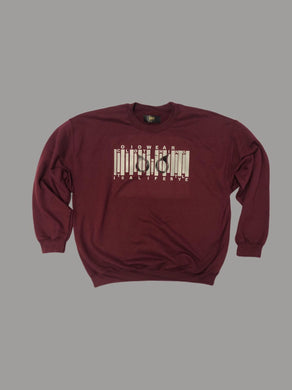 Sweater OiO Premium Burgundy/Gray