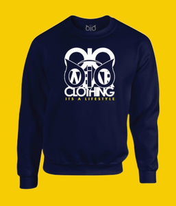 Sweater OiO Navy Blue/ White,Yellow