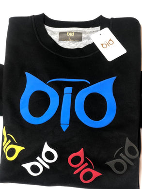 Sweater OiO Puff Black & Blue