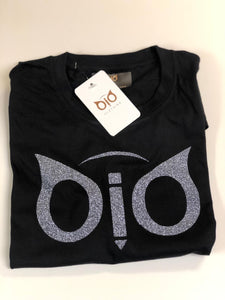 T-Shirt OiO Glitter Black & Gray
